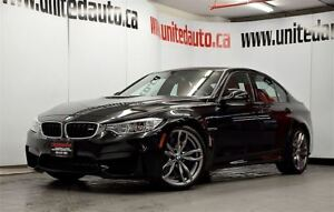 2016 BMW M3 Heads-up display - FULL Leather - NAV - CAMERAS