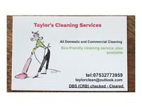 Taylor's Cleaning Service - One Off Cleans/ End Of Tenancy Cleans/ Show Home Cleans/Office Cleans