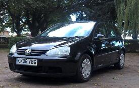 Volkswagen Golf Diesel 5 Door - Black FSH