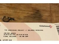 Solardo Sessions Boxing Day Tickets (WHP Warehouse Project)