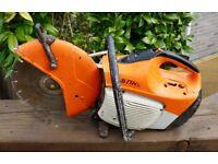 Stihl TS410 Petrol SAW Cut Off Stone/ metal Disc Cutter