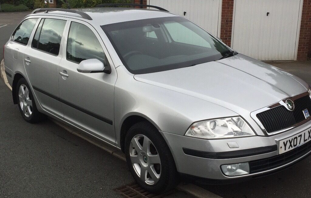 Skoda Octavia Estate 2.0 TDI PD , (140bhp) 2007 plate, 3 owners ,114k