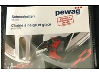 USED ONCE Pewag Servo SUV RSV 81A Snow Chains USED ONCE ONLY USED ONCE
