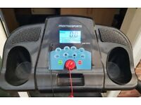 Treadmill with Loud Speakers