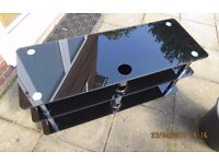 Heavy Duty Glass TV Stand