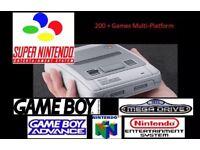 Nintendo SNES / NES Classic Mini Modification Service 200+ Games (SNES, NES, Mega Drive, GBA)