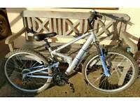 Ladies suspension bike