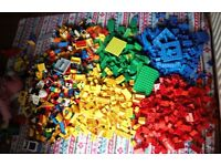 Ginormous collection of Lego Duplo - 5 bags of legendary blocks, hours of fun