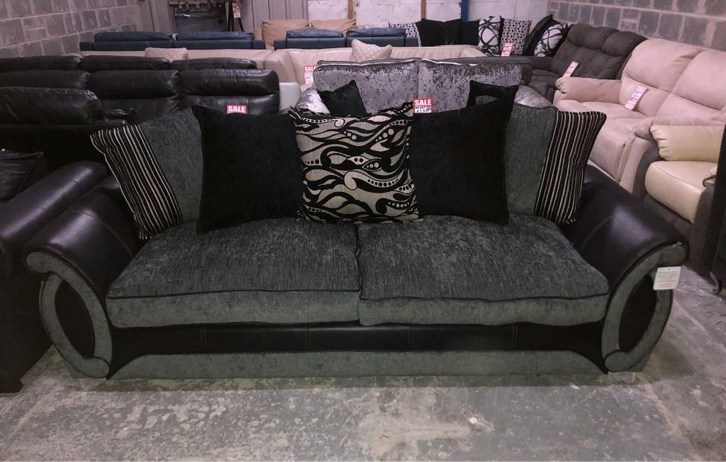 DFS Helix 4 seater sofa