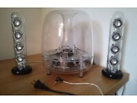 Harman Kardon Soundsticks III Speaker NICE, STYLISH AND NICE BASE