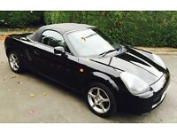 2003 TOYOTA MR2 ROADSTER IN BLACK 1.8 VVTi 140 BHP MANUAL BREAKING FOR PARTS
