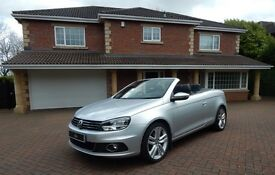 VW Eos SE TDI BLUEMOTION TECHNOLOGY (silver) 2011