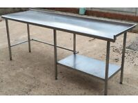 Stainless Steel Industrial Catering Table/Work Bench