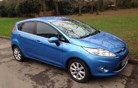 Ford Fiesta Zetec 1.6 diesel showroom condition!! HPI clear, full service history, 11 months MOT