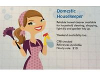 Housekeeping Available