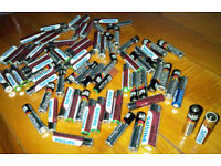 FREE bundle used AAA batteries. Plenty power left for low-drain items Have been used in torch TD13 5