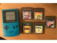 Gameboy colour and games