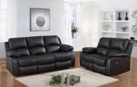 MONDO LEATHER RECLINER 3+2 ONLY £549 FREE DELIVERY