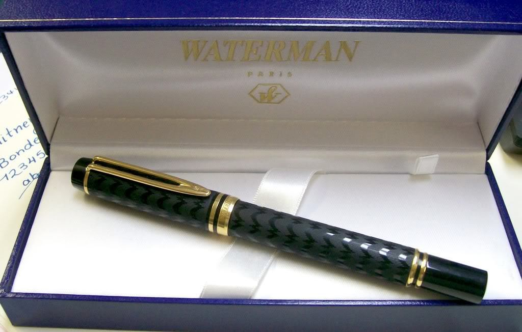 Waterman Rollerball Pen Opera Rollerball Pen New In Box Very Rare