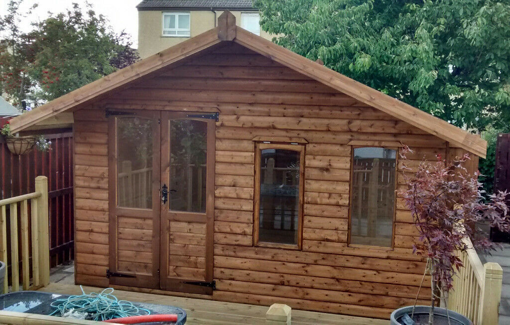 We Provide Bespoke Timber Garages Sheds Etc In