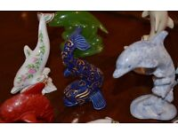 Limited edition Lenox dolphin collection and extras