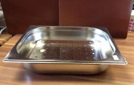 Insert Tray For Bain Marie 1/2 Pot size **SET OF 2** SR