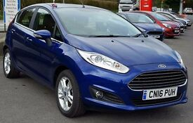 2016 Ford Fiesta Zetec Ecoboost 5dr with just 9,500 Miles, One Owner, Stop/Start, Hill Start...