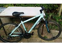 Ladies Apollo Mountain Bike w Gel Seat, includes Bell Lock, Cable and brand new Pump & Water Bottle