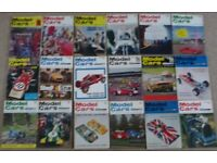 'MODEL CARS' - NOSTALGIC & VINTAGE COLLECTABLE MAGAZINES (18 various copies - Jan 1968 – Sept 1969)