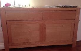 Bargain - solid oak sideboard