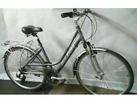 Womans Raleigh Hybrid Bike Fully Equipped in Good Condition