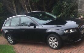 Audi A4 black diesel avant