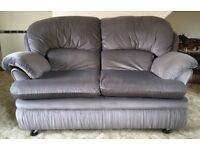 SOFA 2 SEATER WITH 2 CHAIRS