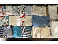 Newborn Baby Boys Clothes Bundle