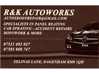 car accident repair, body works,panel beating, car spray ! auto body repairs