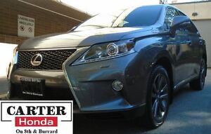 2013 Lexus RX 350 F Sport + AWD + NAVI + COOLED SEATS! + YEAR-EN
