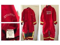 Adult fireman's outfit
