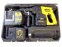 Dewalt 24V Cordless SDS HAMMER DRILL, Very powerful, Bargain. (NO OFFERS) (power tools, diy)