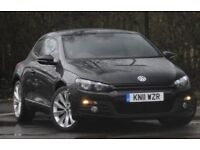 VW Scirocco with extras and leather heated seats