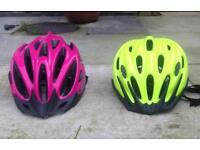 Cycle Helmets £15 each or both for £25