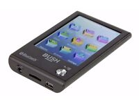 BUSH 2.8 inch TOUCHSCREEN MP3 and VIDEO PLAYER BLUETOOTH 16GB