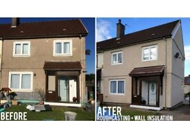 WSD Home Improvements - Roughcasting - Painting - Plastering - Floors - Competitive Prices