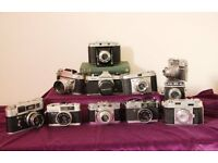 Classic camera collection