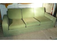 3 seater sofa bed - settee