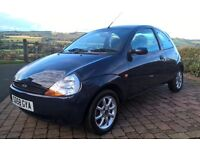 2008 FORD KA 1.3 ZETEC CLIMATE GENUINE 19000 MILES FROM NEW