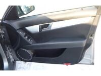 Mercedes C class w204 204 driver front door card panel os side handle