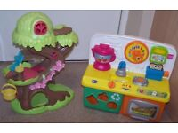 Musical Tree House and Kitchen. Children Toys