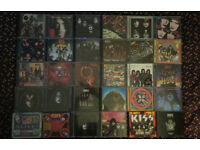 30 KISS CD Albums Gene Simmons Paul Stanley Rock