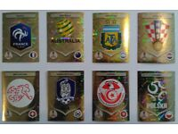 PANINI WORLD CUP 2018 STICKERS - FIFA SPECIAL SHINYS & TEAM LOGOS TO SELL OR SWAP
