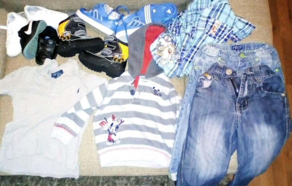 Baby boy designer clothes trainer's